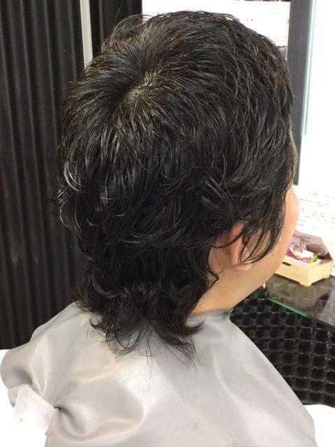 抗がん剤治療後の自毛をまずはカット!