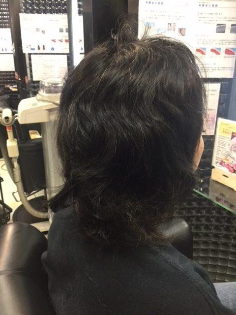 抗がん剤治療後の伸びた自毛にカラーカットでウィッグ卒業&地毛デビュー!