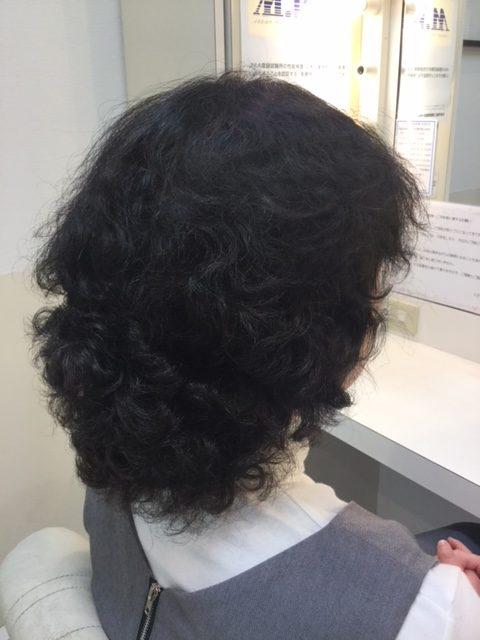 抗がん剤治療後のかなり強いくせ毛に縮毛矯正をかけて自毛デビュー!