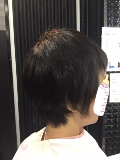 抗がん剤治療後の自毛にカラー&シールエクステでウィッグ卒業&地毛デビュー!