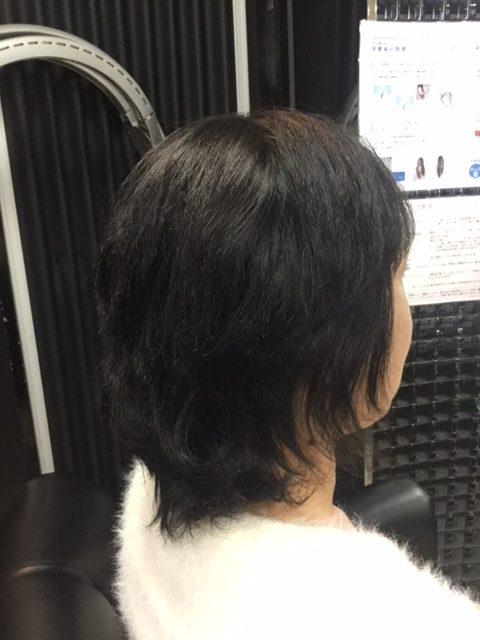抗がん剤治療後のくせ毛に縮毛矯正とカラーリング!
