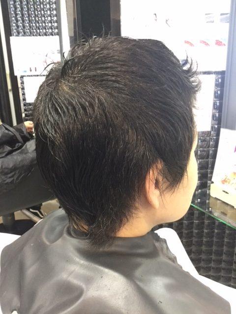抗がん剤治療後の自毛をカットカラーして素敵に変身!地毛デビュー!