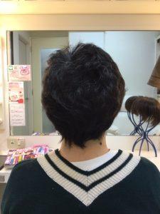 抗がん剤治療後のくせ毛を縮毛矯正、カットカラー、そしてシールエクステ!