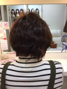 抗がん剤治療後の自毛をカットだけしてみました