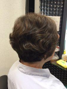 抗がん剤治療後のくせ毛の自毛のお手入れ、ストレートパーマ編