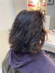 抗がん剤治療後のくせ毛を縮毛矯正で自毛デビュー