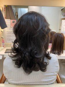 抗がん剤治療後のくせ毛を縮毛矯正。